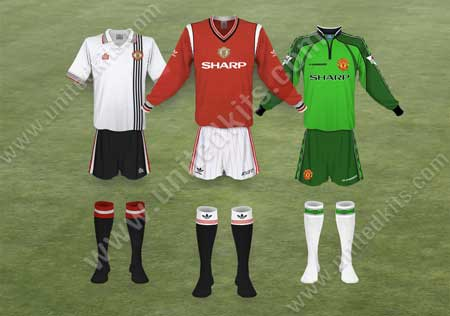 1fdd1ad76 Each season since United s formation in 1878 has its own page with  illustrations of all the kits worn that year both by the outfield players  and the ...