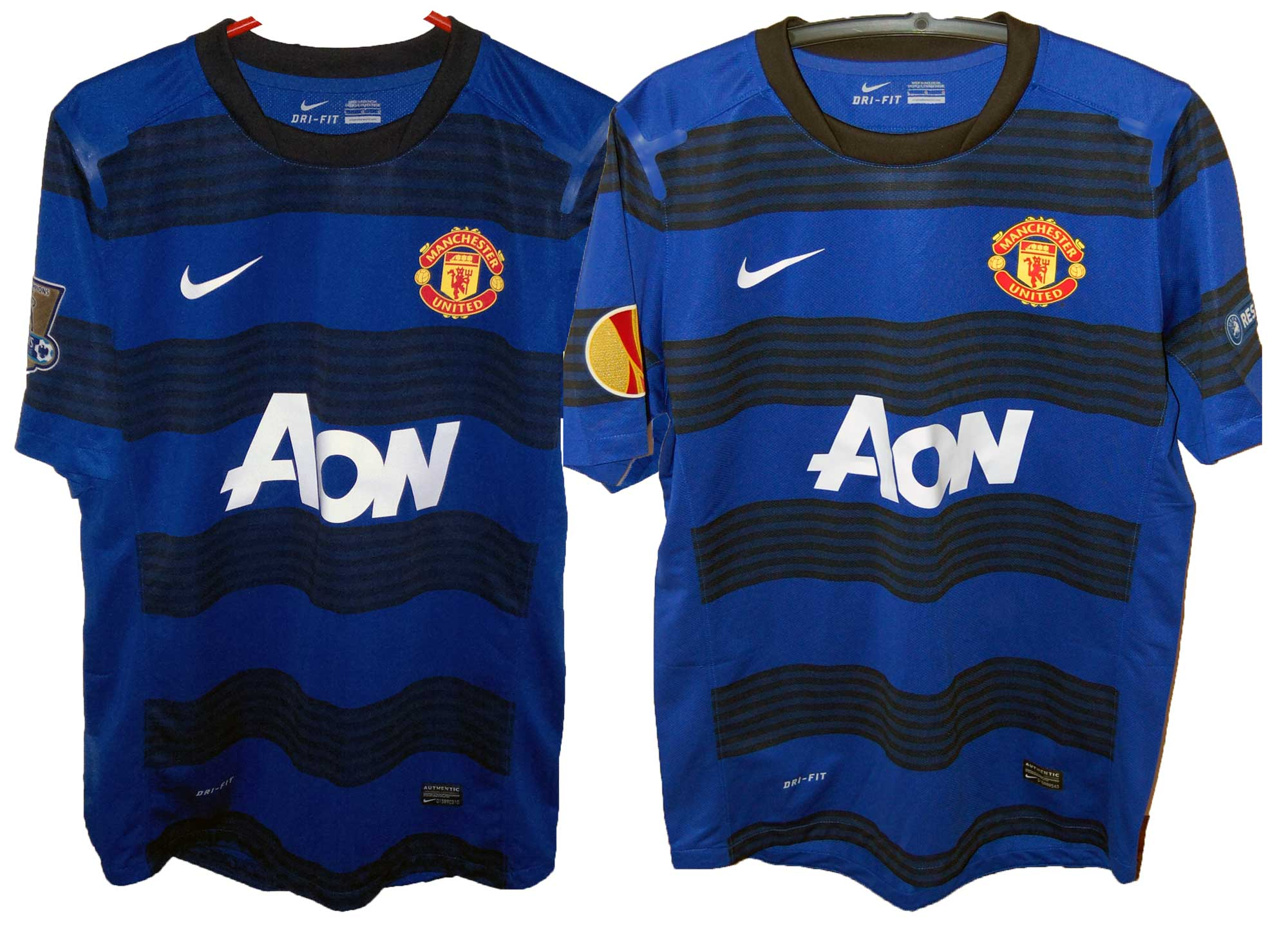 2011/12 Change Shirts Domestic and European